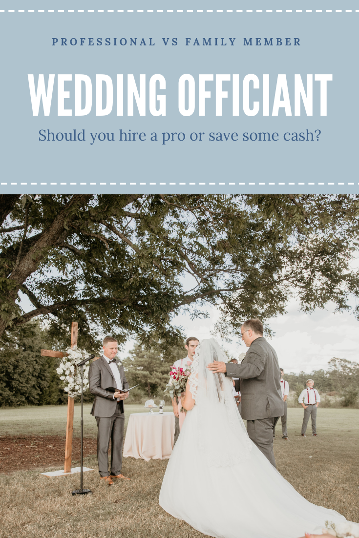 Wedding Officiants Professional Vs Family Pepper Sprout Barn Wedding Officiant Wedding Officiant Business Officiants