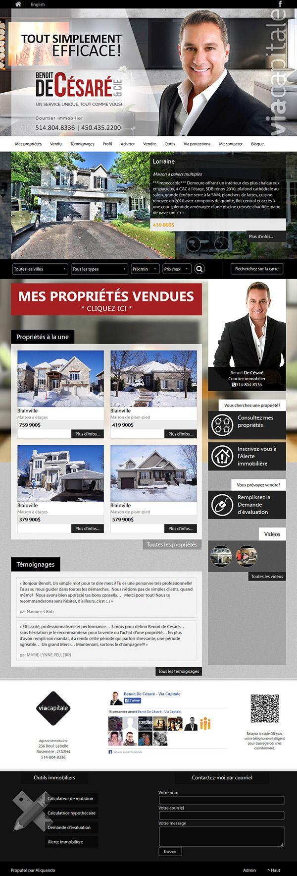 Benoît Decésaré Cie Courtier Immobilier Viacapitale Aliquando Immobilier Vendre Acheter Maison Habitation W Immobilier Courtier Immobilier A Vendre