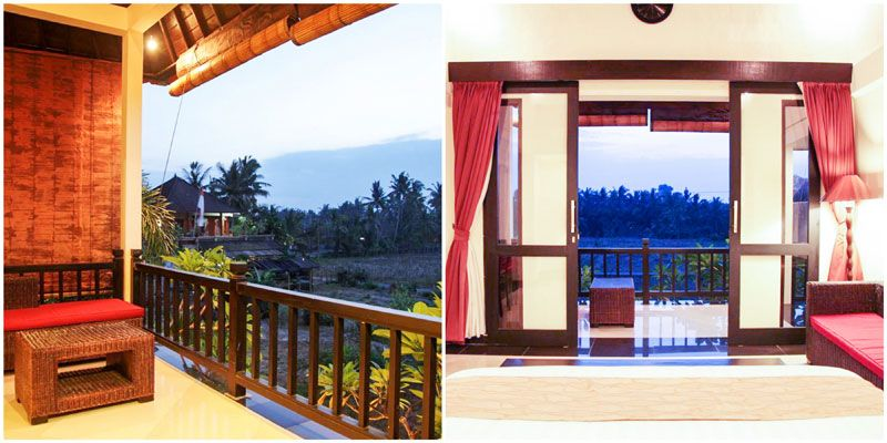 17 Villa Romantis Di Bali Dengan Kolam Renang Pribadi Dibawah Rp 1 Juta Yang Pas Buat Bulan Madu Kolam Renang Villa Liburan Romantis