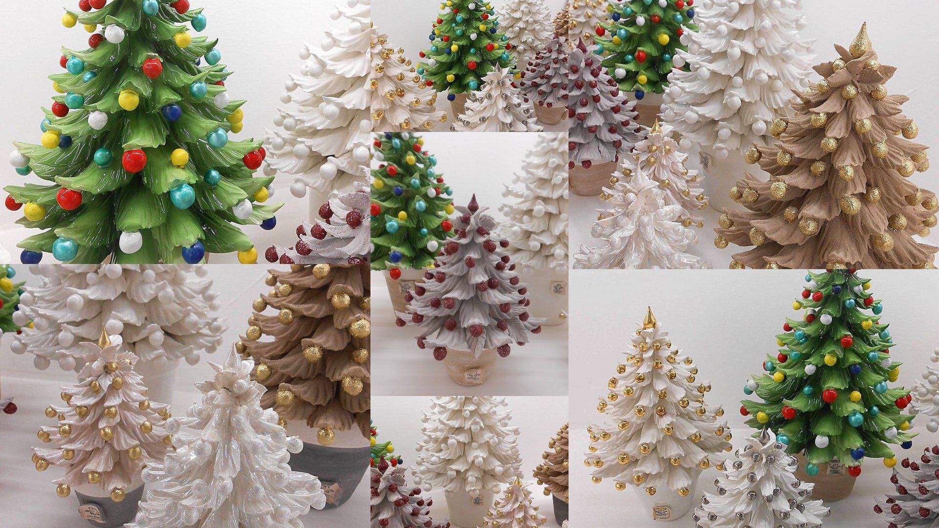 Decorazioni Natalizie Acquisto On Line.Alberi Natalizi Porcellane Di Capodimonte Decorazioni Natalizie Decorazioni Regali Di Natale
