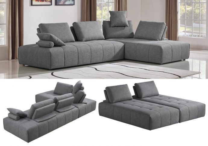 2 Causeuses Sans Bras In 2020 Home Decor Sectional Couch Decor