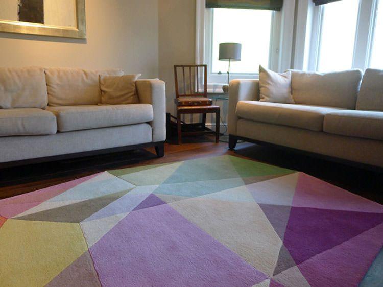20 esempi di tappeti moderni dal design geometrico tappeti tappeti moderni tappeti e design - Tappeti moderni di design ...