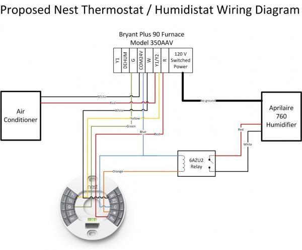 nest 20  honeywell he360  relay  thermostat wiring