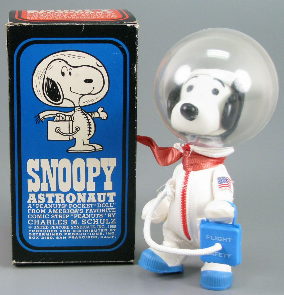 Snoopy Astronaut By Charles Schulz 1969 Space Toys Big Blue Whale Snoopy