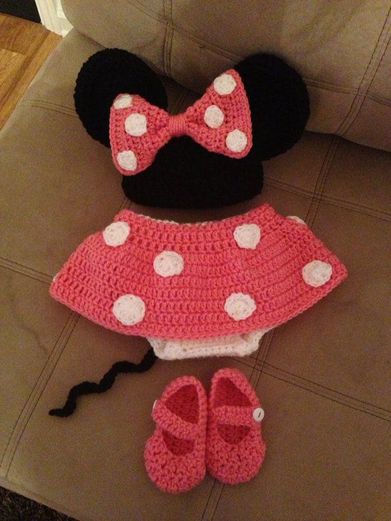 Minnie Mouse Diaper Cover Outfit | Minnie mouse, Minnie y Traje