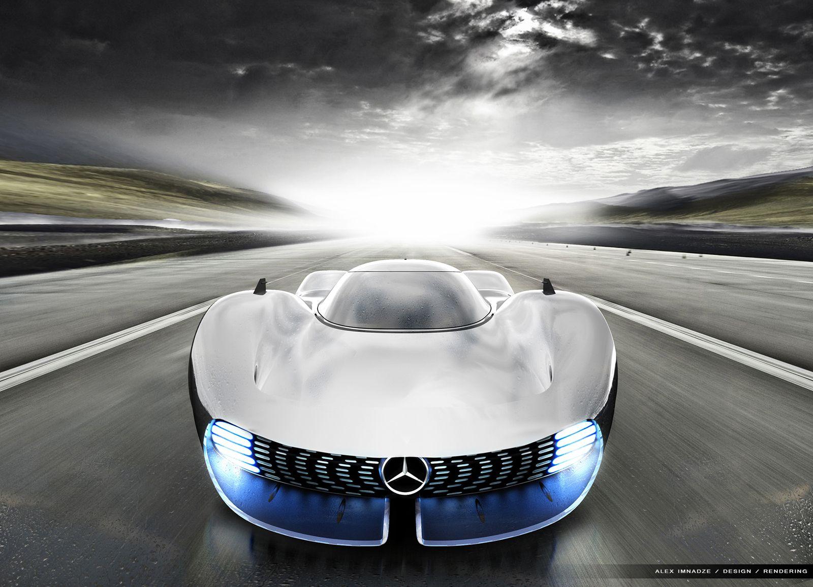 Gaze Into The Future With This Mercedes Amg Hypercar Design