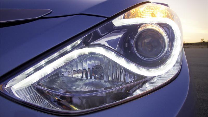 2017 Hyundai Sonata Hybrid Projector Headlights With Led Accents
