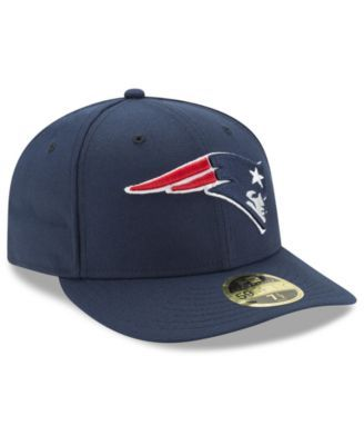 92cc200b5de New Era New England Patriots Team Basic Low Profile 59FIFTY Fitted Cap -  Navy Navy 7 1 8