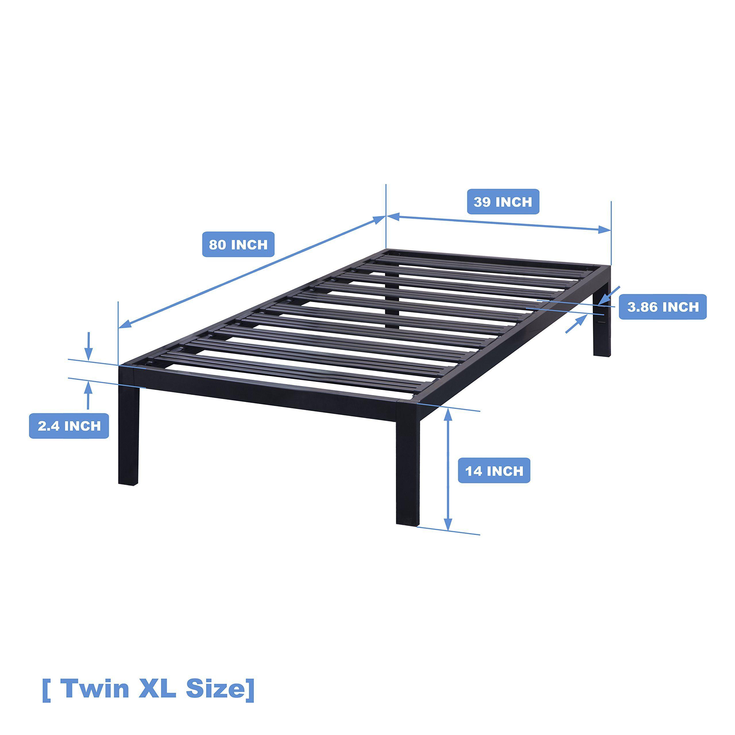 Best Price Mattress Model C Steel Heavy Duty Steel Slats Platform