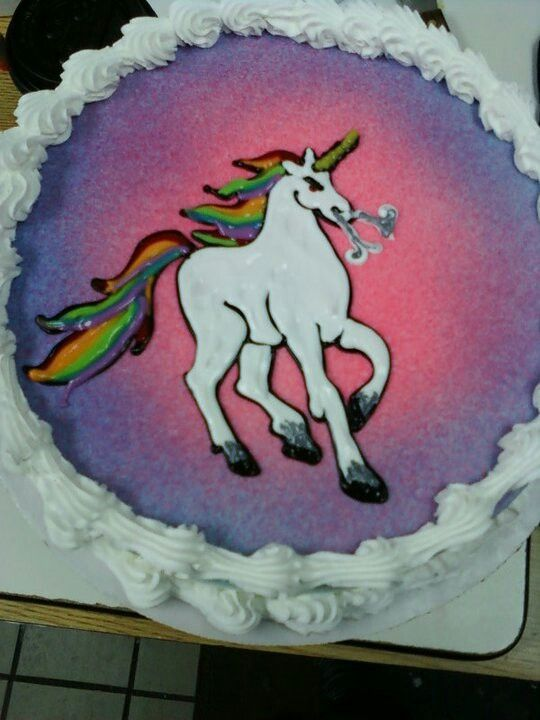 Dairy Queen Cake Unicorn