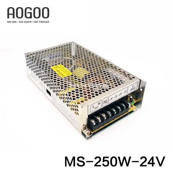Mini-size 250W 24V 10A Switch ModeSwitching Power Supply MS