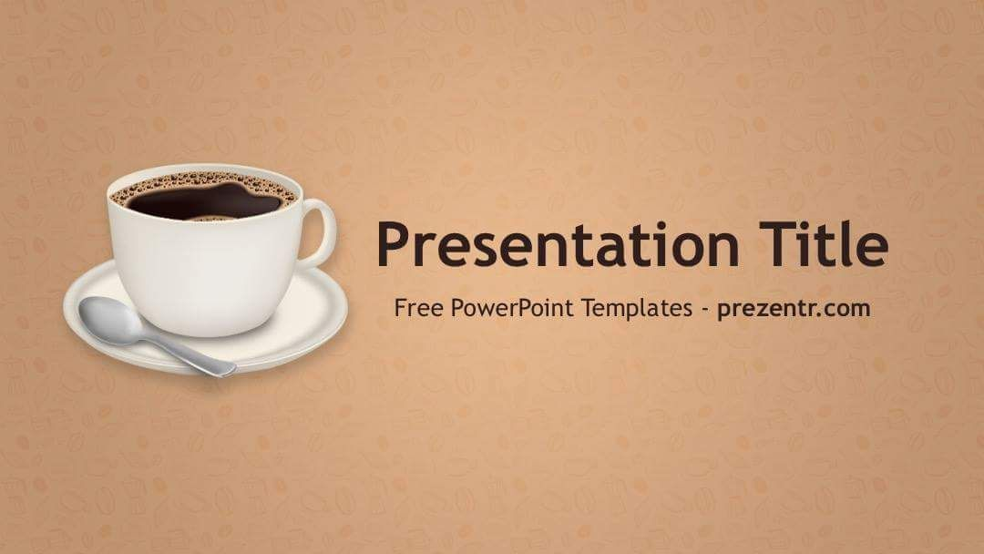 free coffee powerpoint template prezentr ppt templates