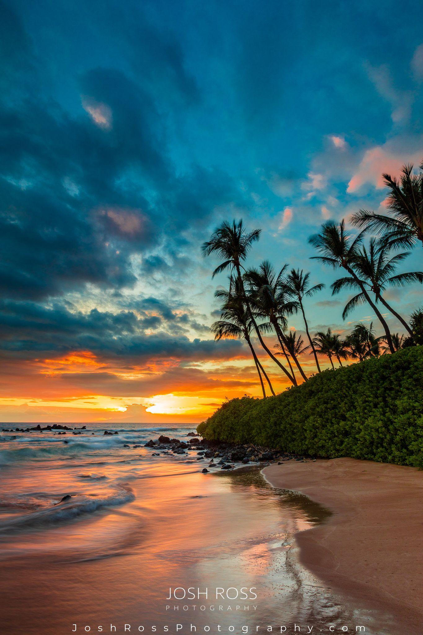 Palauea Beach Sunset Beautiful Beach Pictures Sunset Pictures Beach Sunset Photography