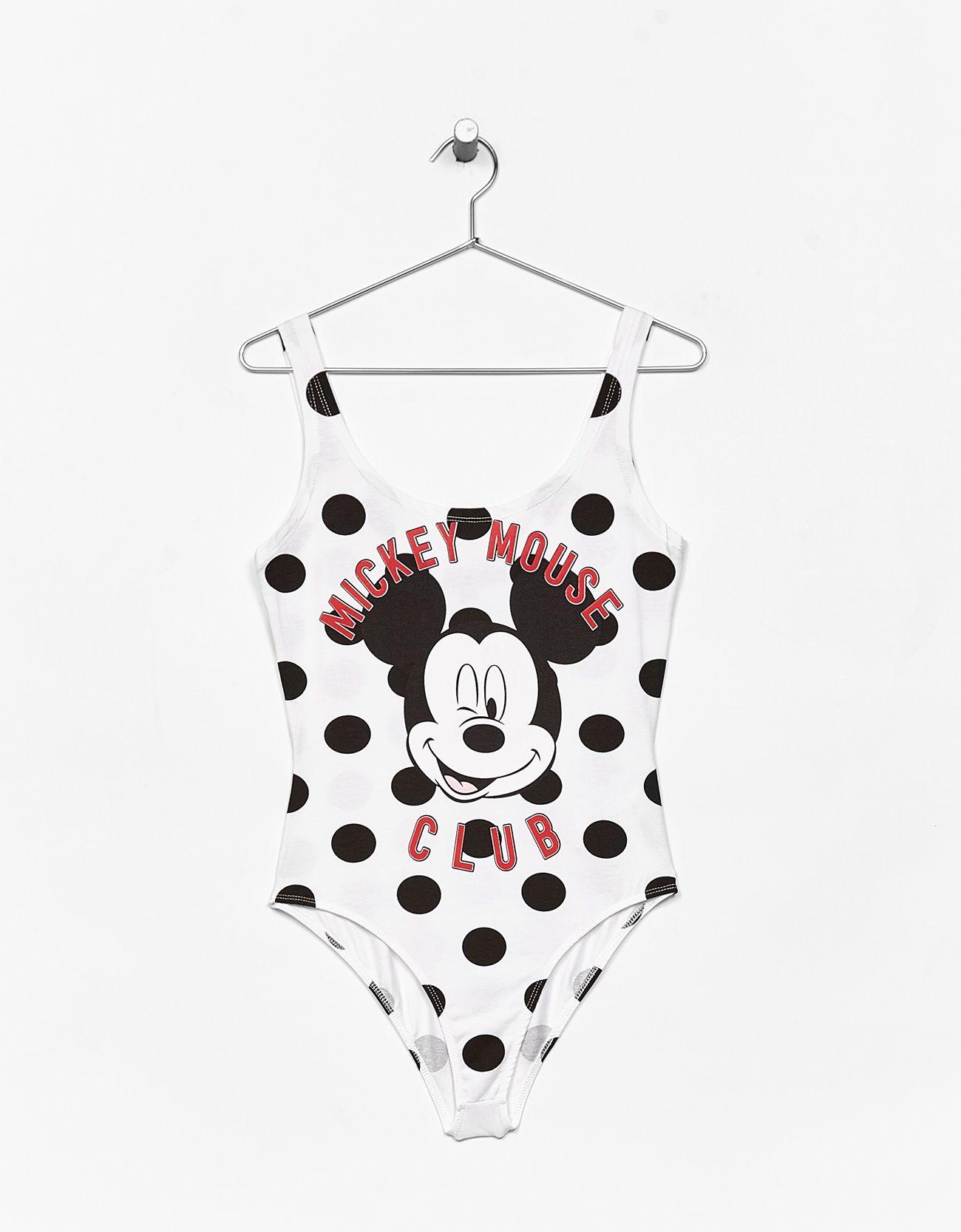 c7719e73140c Strappy polka dot bodysuit with Mickey Mouse print. Fedezd fel ezt és a  hetente új számos terméket a Bershkánál.