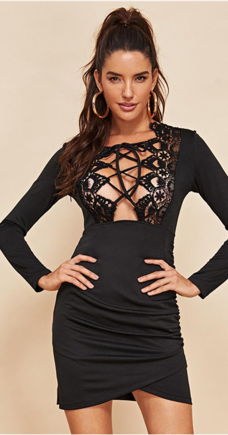 d903c7c2 Black Mini Dress | Sexy Club Dress: Shopping for a new sexy black mini dress