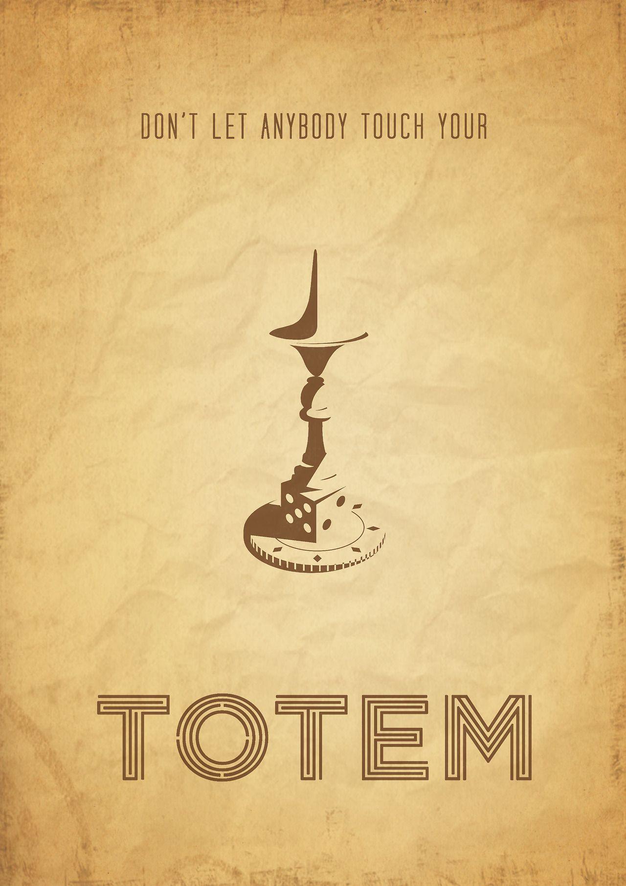 inception totem poster lorenzofrestatumblrcom My place