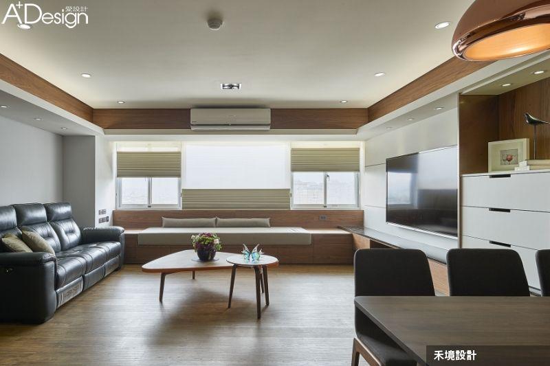 熱愛純木生活的新日式現代風 home decor bay window furniture