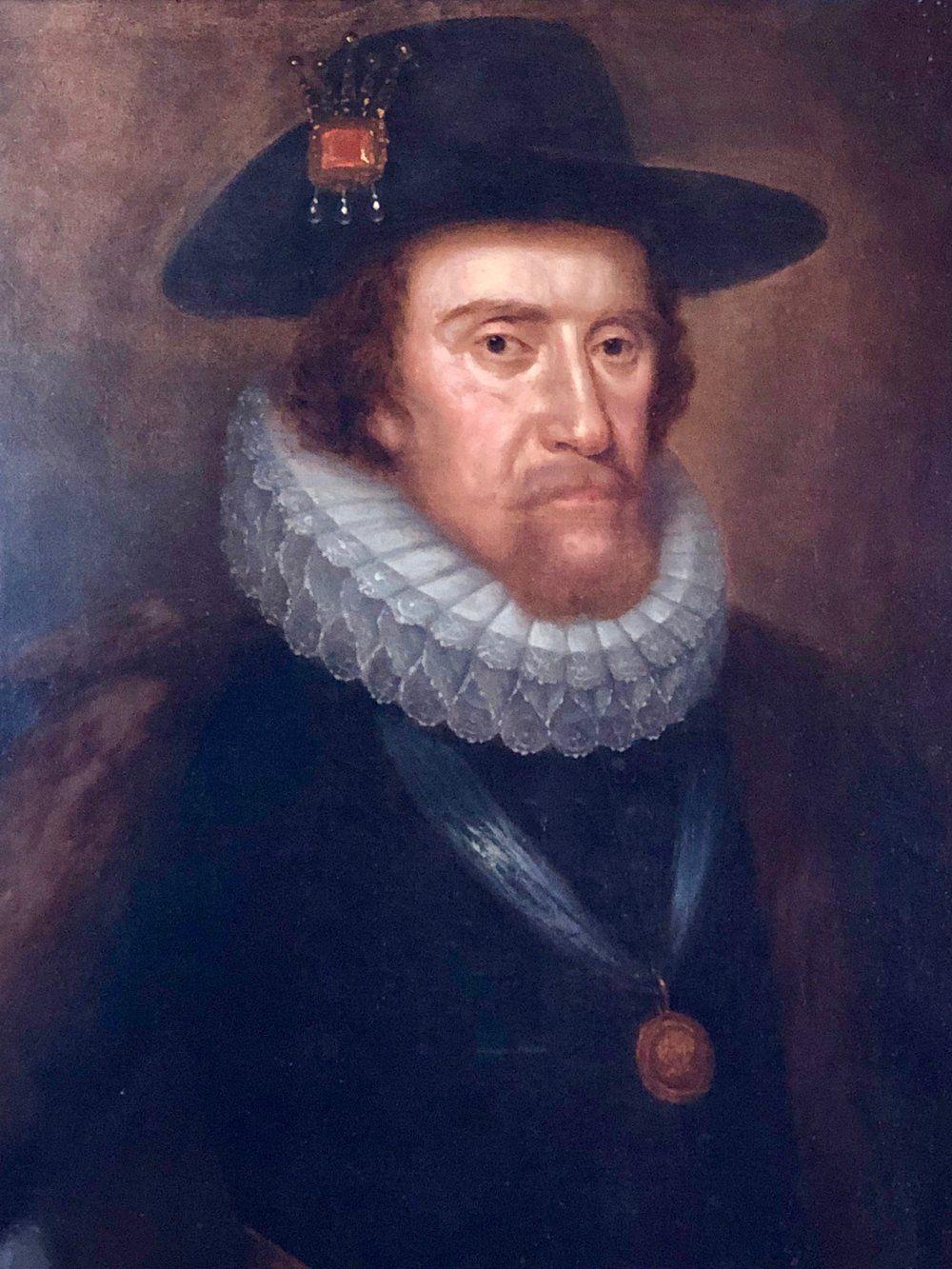 King James I of England and VI of Scotland NPG 1188