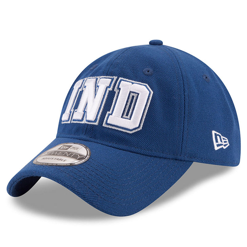 competitive price e82dc f9751 Indianapolis Colts New Era Home Turf 9TWENTY Adjustable Hat - Royal