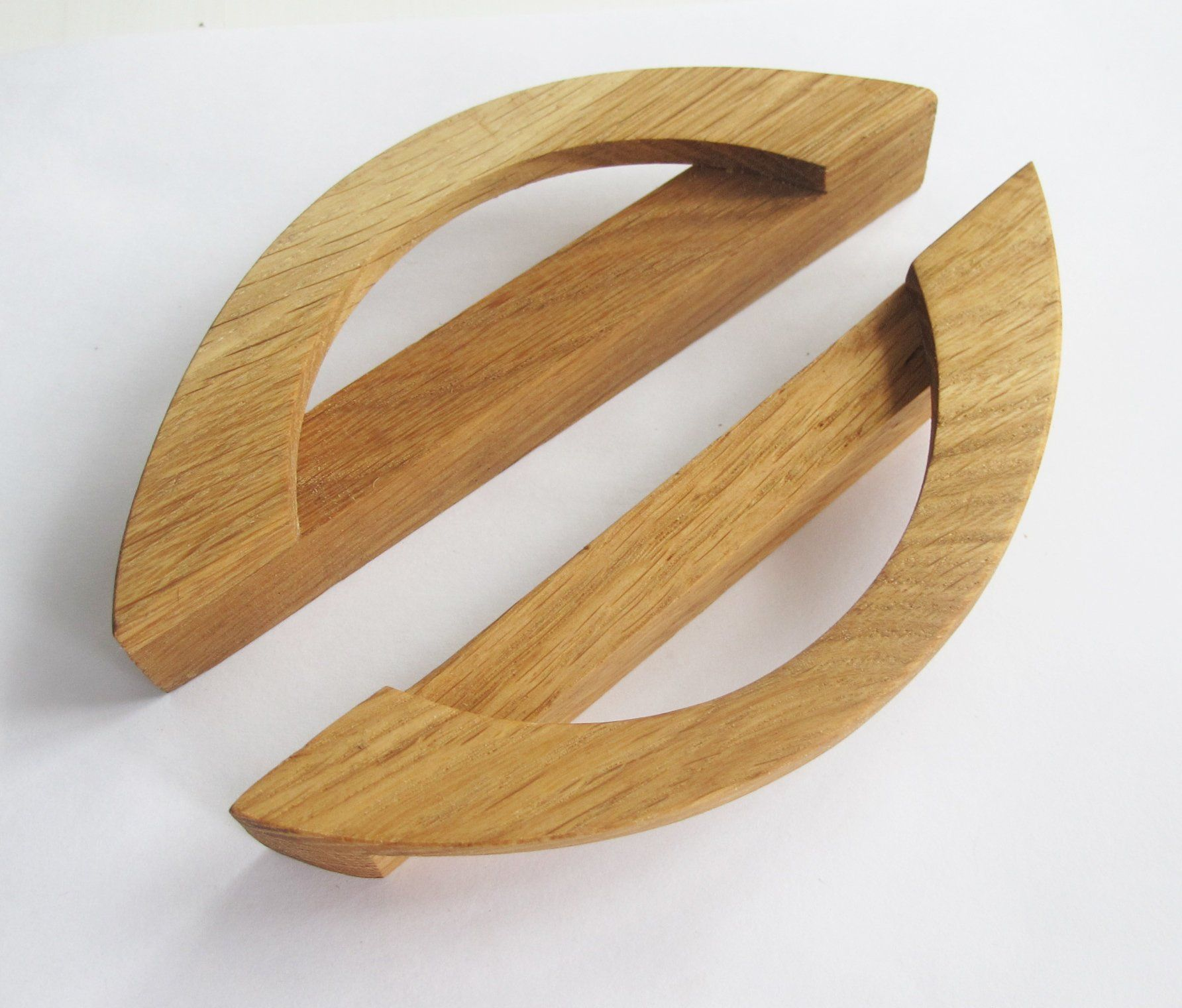 Wood drawer handles modern cabinet drawer knobs oak wood drawer