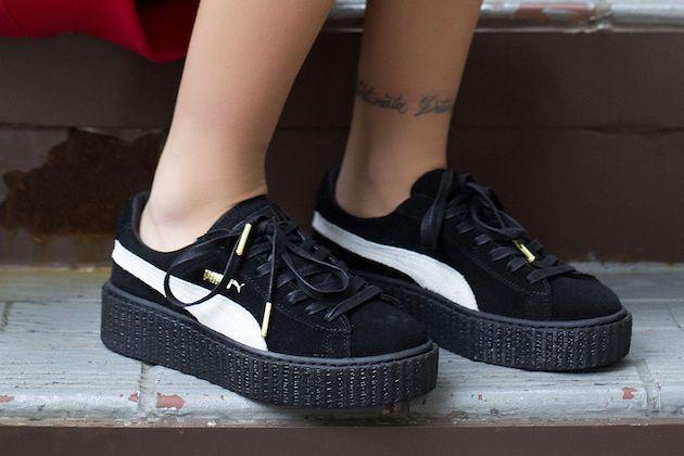 fenty puma scarpe nere