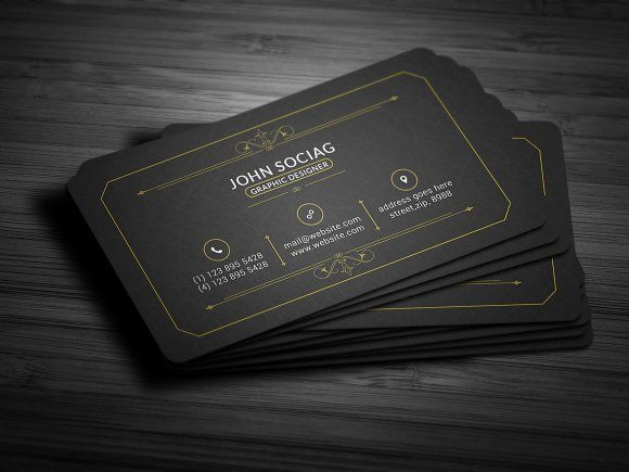 Gold black business card black business card business cards and gold black business card colourmoves