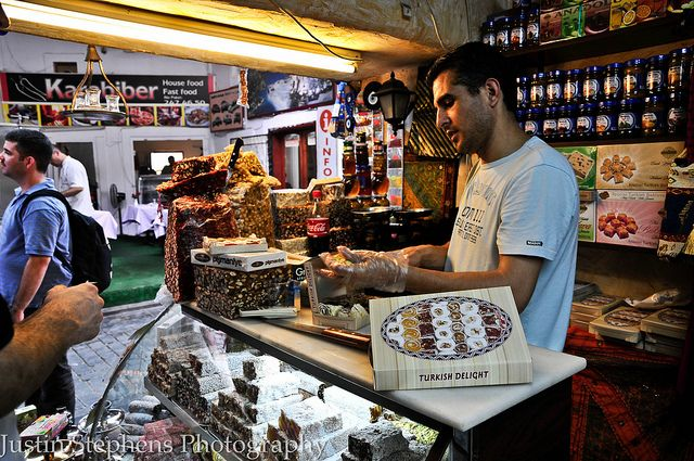 Turkish Delight in Antalia, Turkey by Justin Stephens