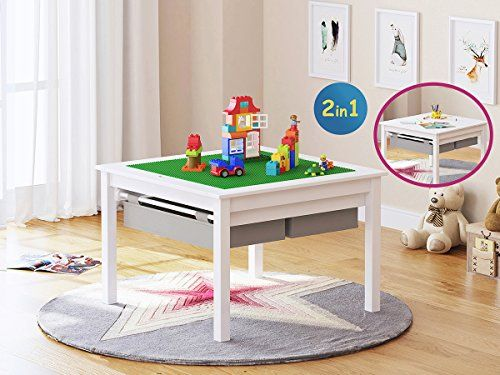 UTEX 2 In 1 Kids Construction Play Table with Storage Dra... | FSS ...