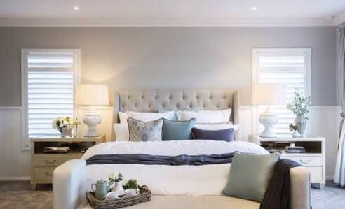 Hamptons Style Master Bedroom Home Decor Modern