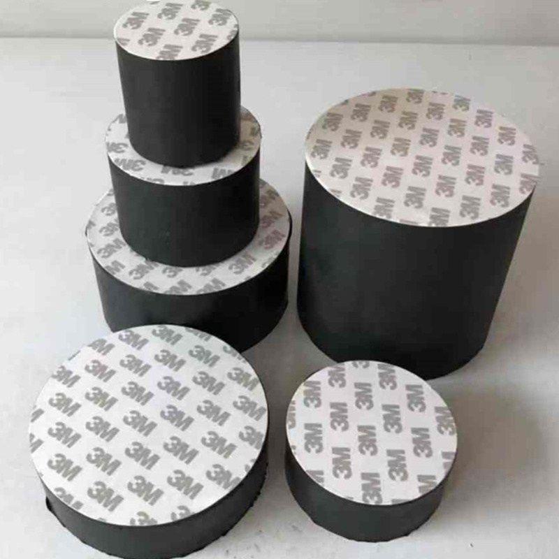 Self Adhesive Furniture Leg Feet Lengthen Pads Hard Rubber Anti