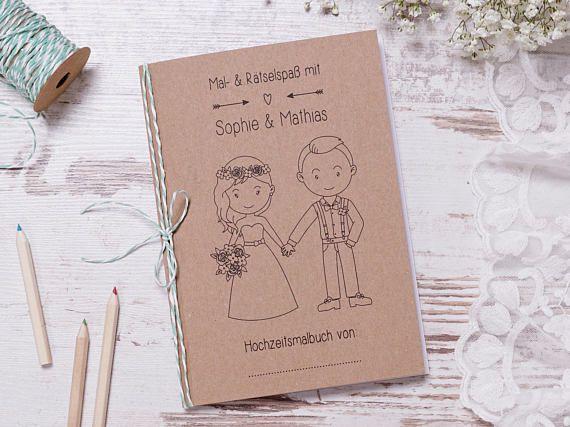 Hochzeitsmalbuch Pdf Pretty Gastgeschenk Hochzeit Wedding With Kids Kids Wedding Favors Kids Holiday Gifts
