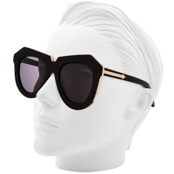 1aa9224060cd Pre-owned Karen Walker Designer One Meadow Sunglasses New ($220) ❤ liked on