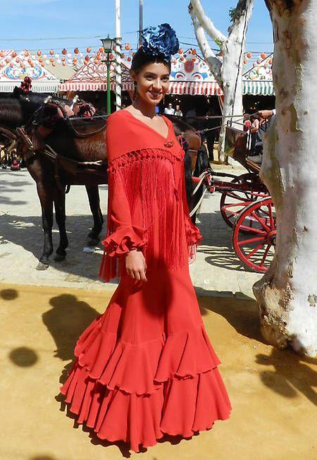 Carlos Herrera presumió de hija por el Real de la Feria de Sevilla