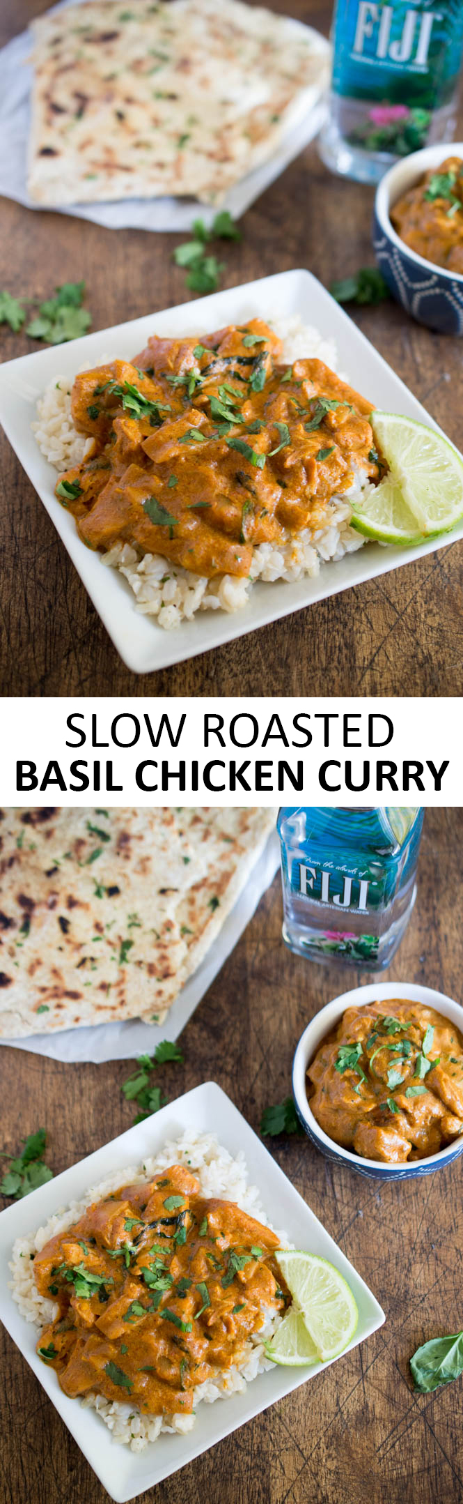 Slow Roasted Basil Chicken Curry | Recipe | Food recipes ...