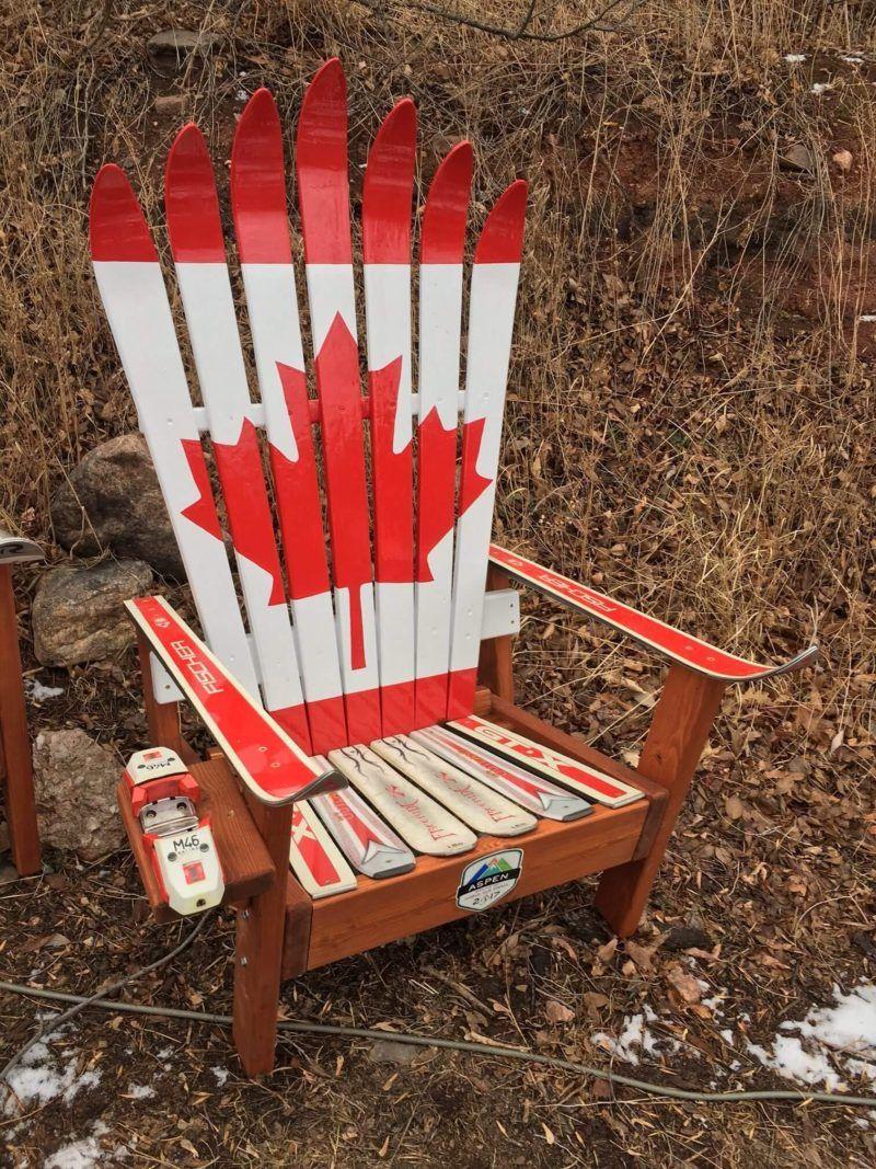 Colorado Ski Chairs | Outdoor Furniture | Ski Furniture | Colorado Gifts