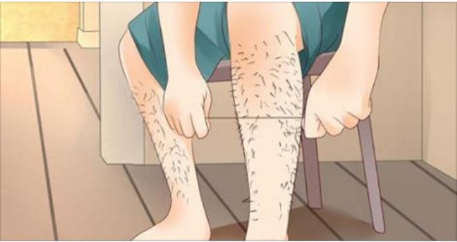 Permanently Remove Leg Hair Naturally