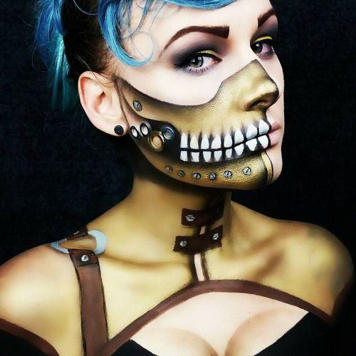 steampunk makeup fx - Google Search
