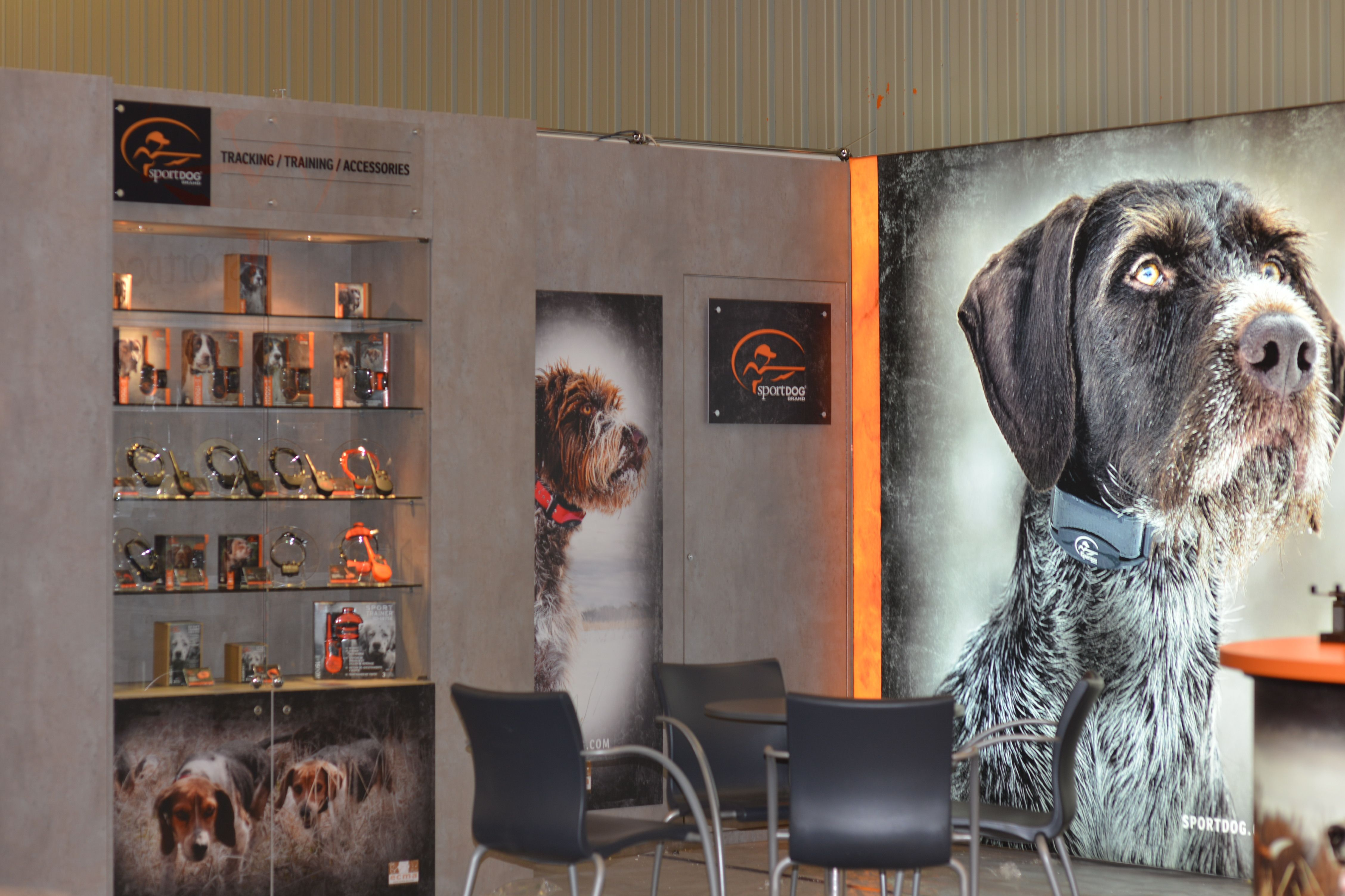 Custom exhibition stand customer design standdesign