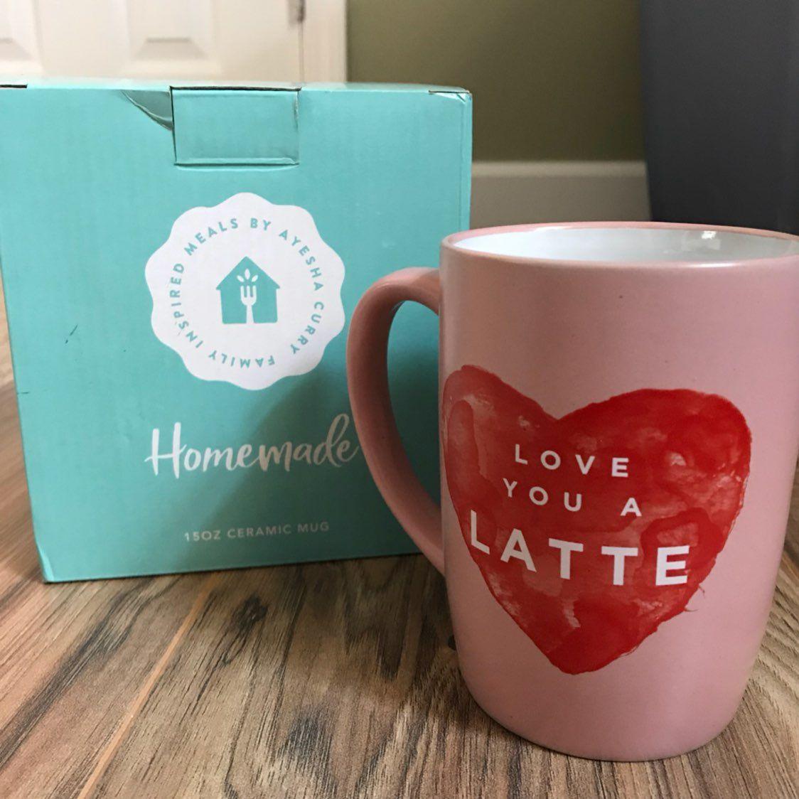 345b414d62a Ayesha Curry Mug Love You A Latte Coffee - Mercari: The Selling App ...