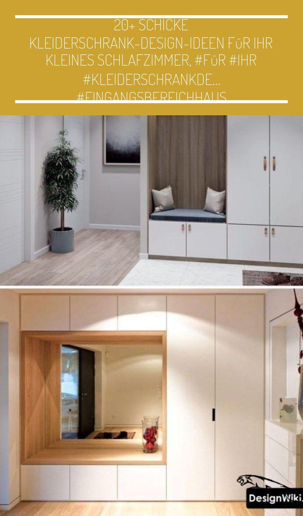 20+ schicke Kleiderschrank-Design-Ideen für Ihr kleines Schlafzimmer, #für #Ihr #KleiderschrankDe...   20+ schicke Kleiderschrank-Design-Ideen für Ihr kleines Schlafzimmer, #für #Ihr #KleiderschrankDesignIdeen #kleines #schicke     #eingangsbereichhaus #muebles de entrada entrance 20+ schicke Kleiderschrank-Design-Ideen für Ihr kleines Schlafzimmer, #für #Ihr #KleiderschrankDe… #eingangsbereichhaus