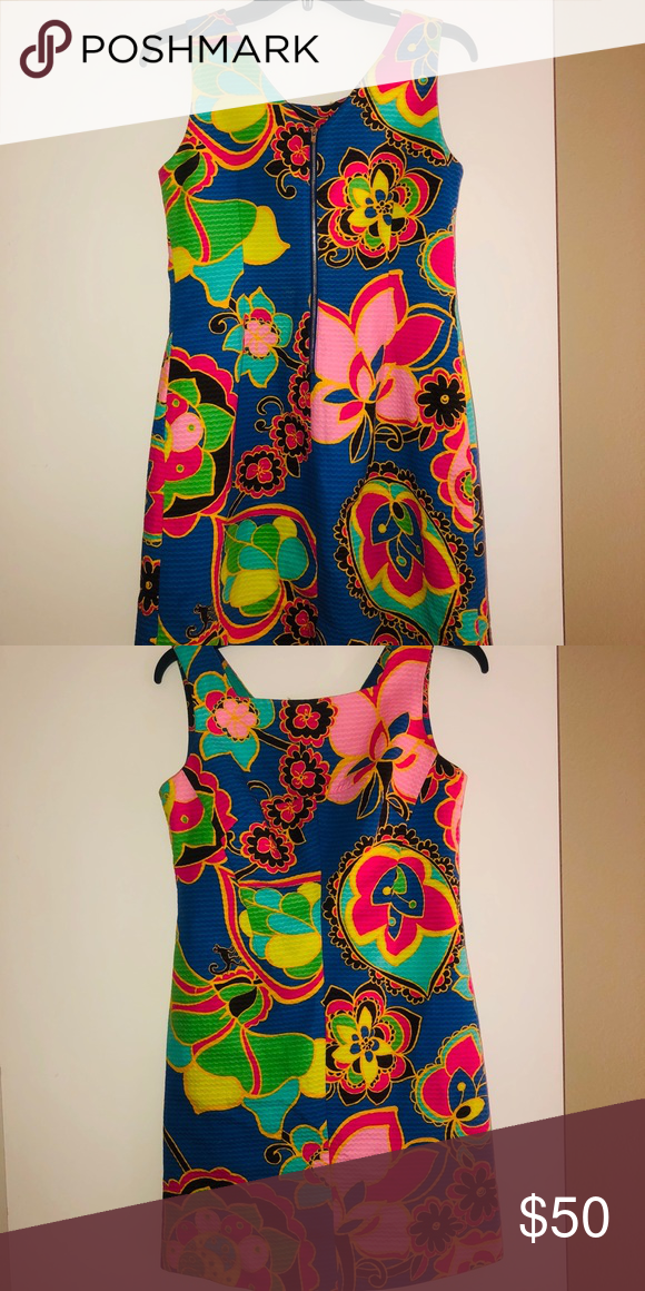 Lillypulitzer Multi Color Dress Multicolor Dress Dresses Fashion