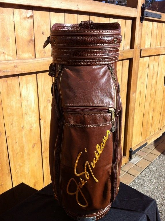 Jack Nicklaus Masters Tournament Used Golf Bag