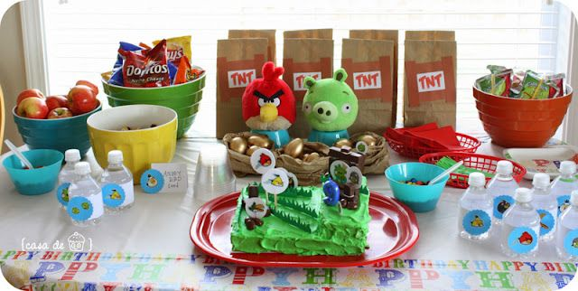 Angry Birds Party Decoration Ideas & Angry Birds Party Decoration Ideas | Crafts etc | Pinterest | Bird ...