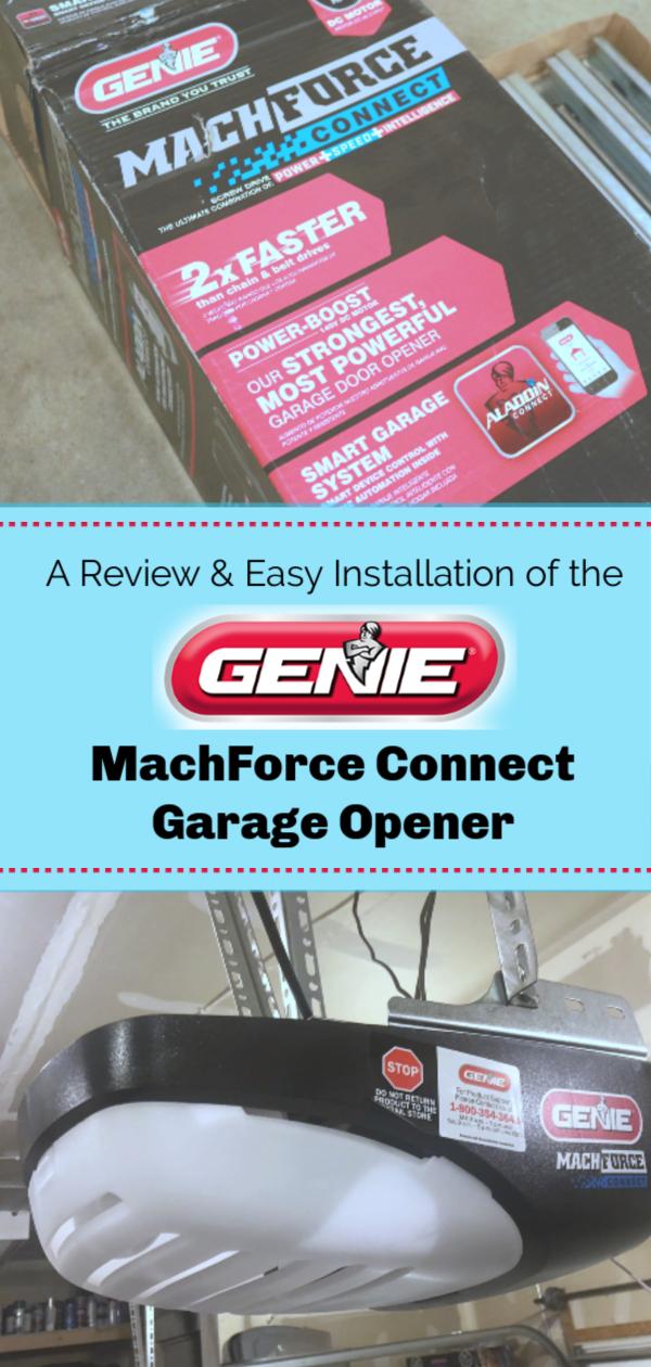 You Need The Genie Machforce Connect Garage Opener And Here Is Why Smart Garage Door Opener Garage Door Opener Installation Garage Door Installation