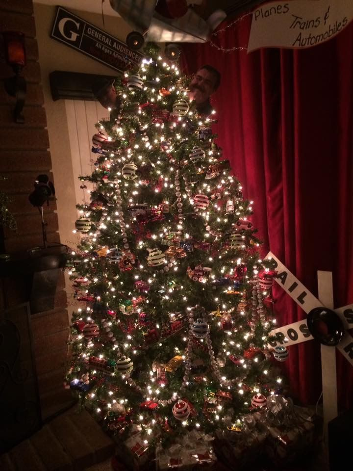 Planes Trains And Automobiles Christmas Tree Themed Christmas Tree Christmas Holiday Decor