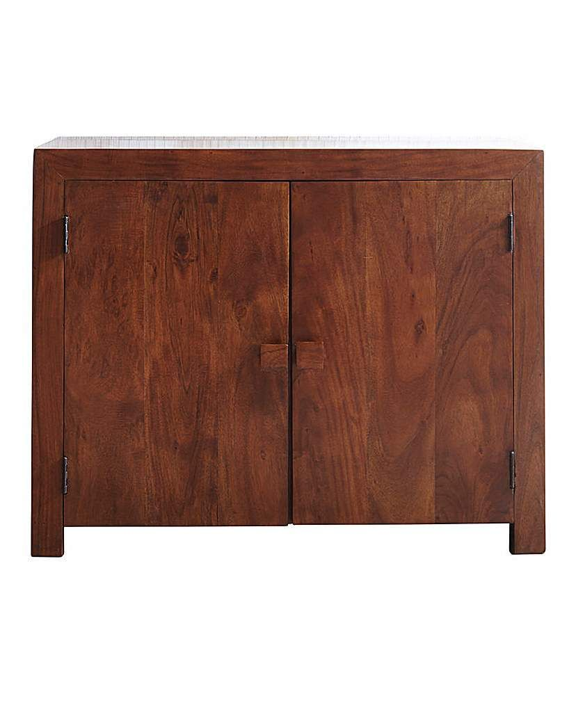 The java small sideboard is crafted using india acacia wood and stained to enhance the beauty
