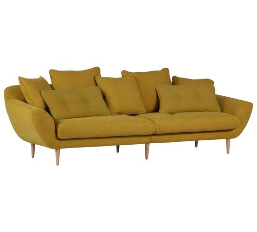 Sofa im Stil der 60er: perfekt für Retro-Fans und Möbel ...
