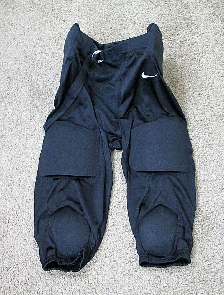 Nike football pants padded youth 3xl black nike