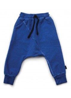 4597e59e4 NUNUNU Diagonal Baggy Pants / Dirty Blue | Izzy's Wardrobe | Kids ...