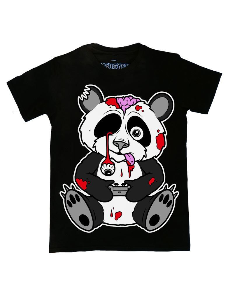 Twisted Zombie Panda T Shirt Twisted Apparel Panda